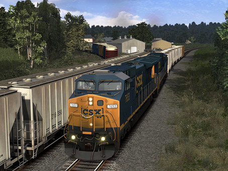 TS20: NOW AVAILABLE, THE CSX HANOVER SUBDIVISION ROUTE!