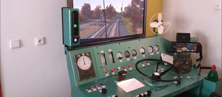 Ride on 751   Os 14876 (H. Brod - Světlá n/S.   Train Simulator 2020   GVD 2019/20