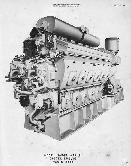 EMD 12-567 Engine Update
