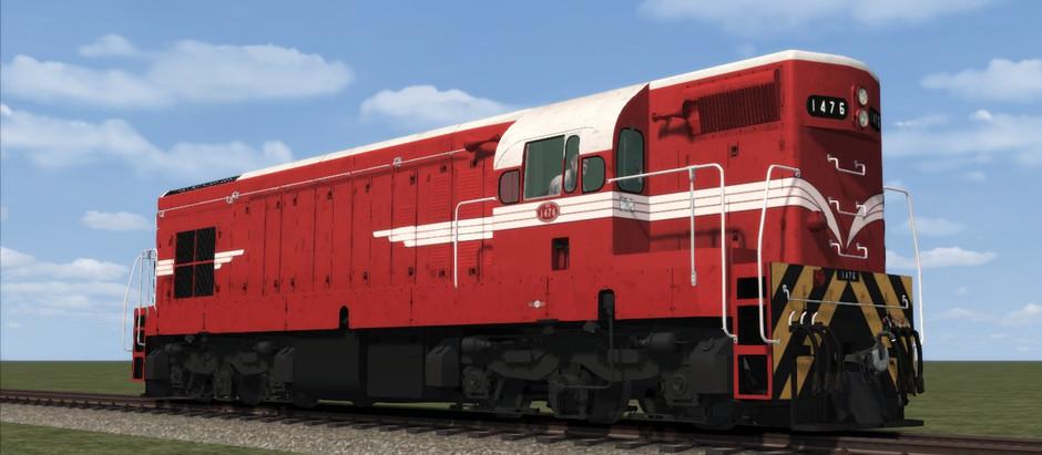 NZR DA CLASS (1449-1511) Coming Soon in Train Simulator...