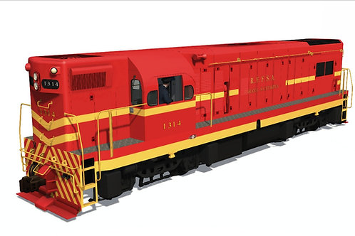 GM/EMD - G12 RFFSA / RVPSC Dynamic Numbers