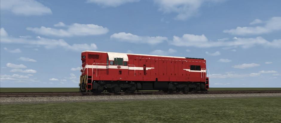 NZ DA Class in Train Simulator