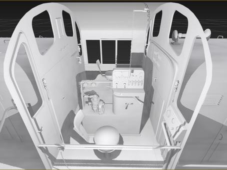 ALCO RS-3 Cab interior
