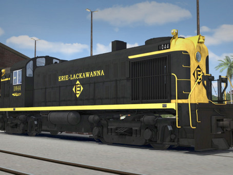 Alco RS-3 Erie Lackawanna - OUT NOW
