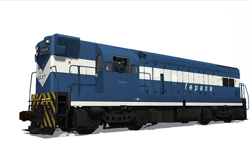GM/EMD - G12 FEPASA and Cia. Paulista (Pack) Dynamic Numbers