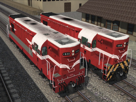 DA's phase 3 and 4 New Zealand Railways