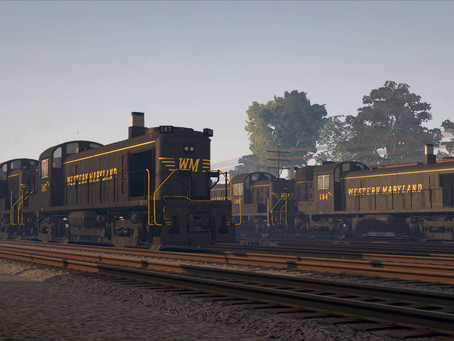 ALCO RS-3 Western Maryland - OUT NOW