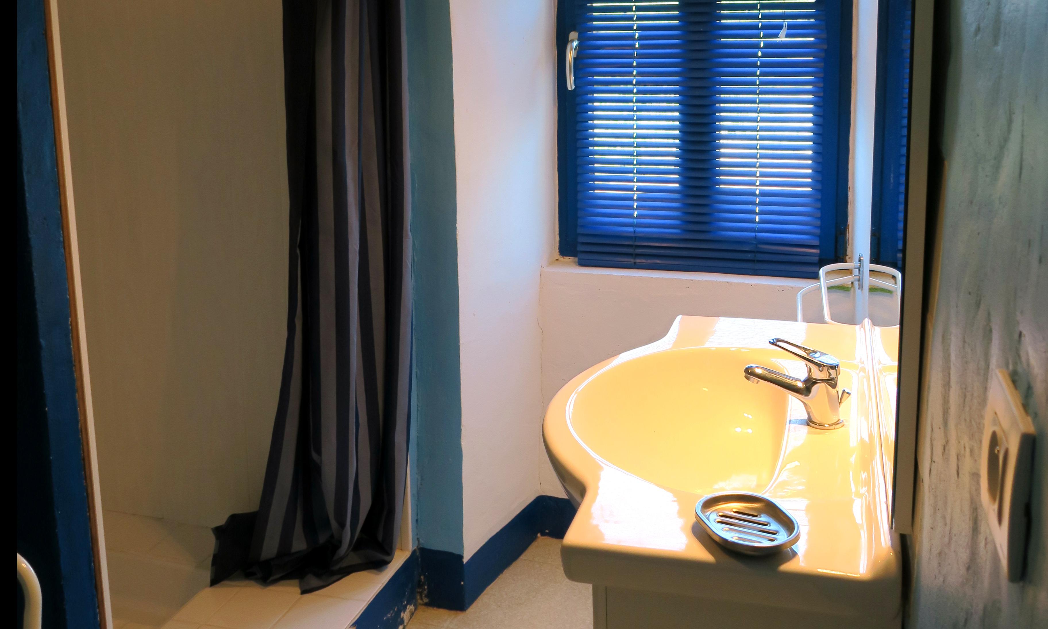Gite Drôme Rimon • Salle d'eau