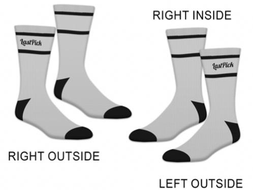 LastPick Socks Grey