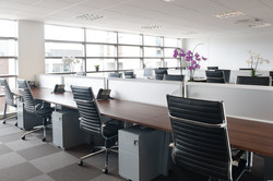 SWFour open-planned office space