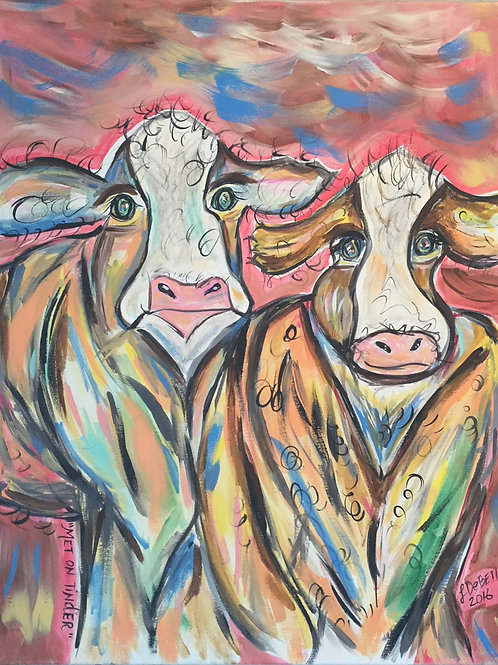 Tinder Cows (SOLD)
