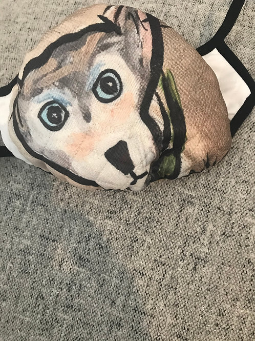 Dog mask 1