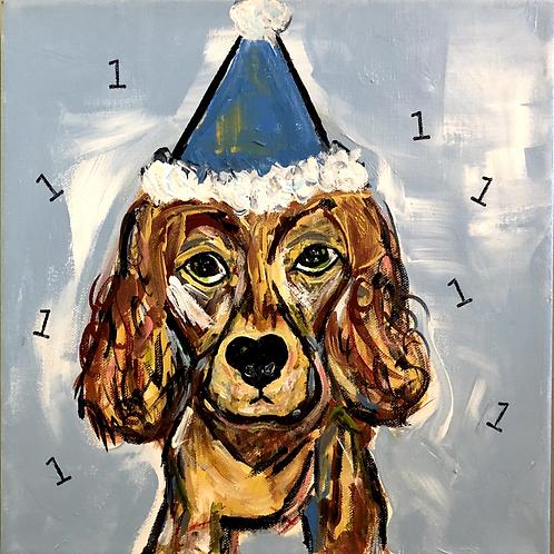 Wally's 1st birthday