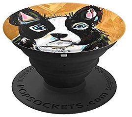 Boston Terrier Popsocket