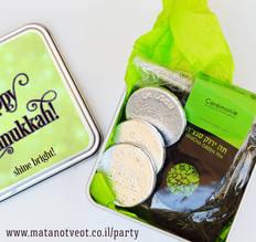 מארז תה ירוק  מתנת חנוכה