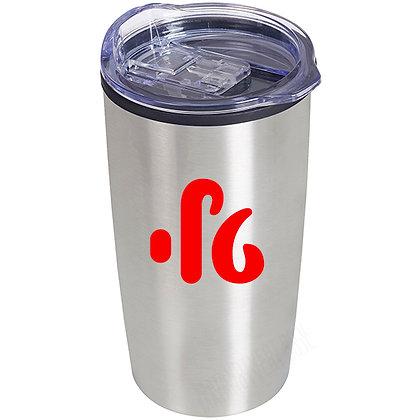 כוס  נירוסטה תרמית עם שם