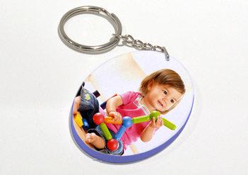 מחזיק מפתחות עגול צבעוני