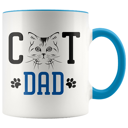 CAT DAD ספל  כוס
