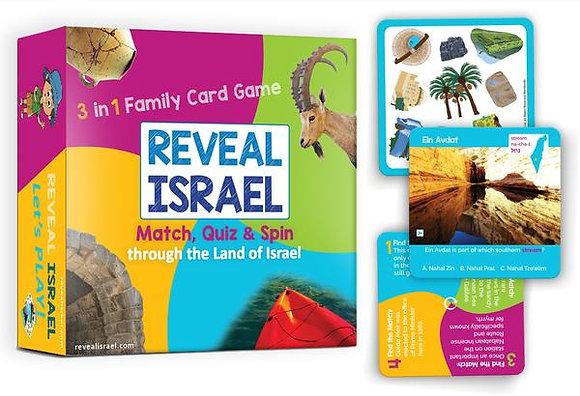 Reveal Israel Card Game