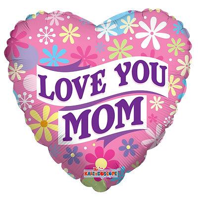 Love You Mom בלון לאמא