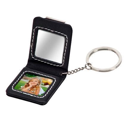 מחזיק מפתחות עם מראה ומקום לתמונה