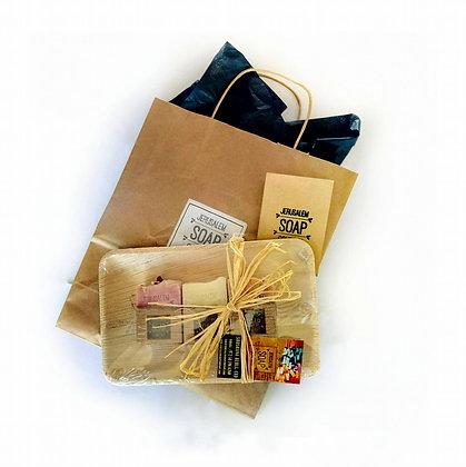 מארז מתנה של סבון ירושלים - 3 סבונים
