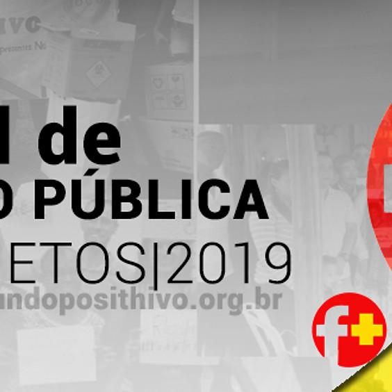 5º edital para organizações sem fins lucrativos que desenvolvam projetos de prevenção ao HIV/Aids, Hepatites Virais e te