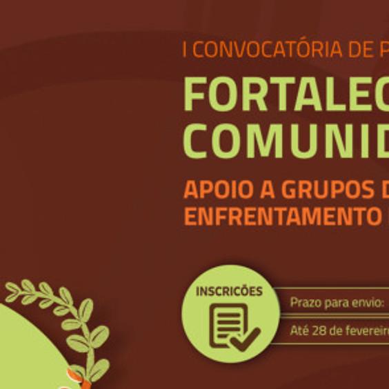 I Convocatória de projetos 2021 - Fortalecendo comunidades
