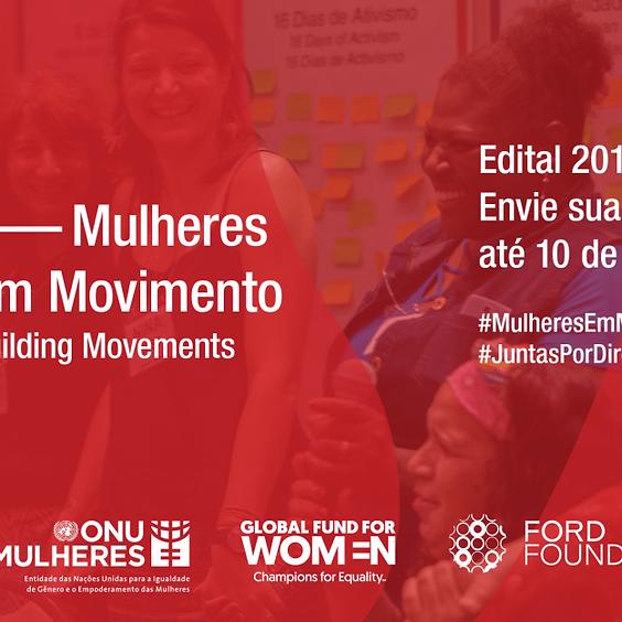 Edital Mulheres em Movimento 2019