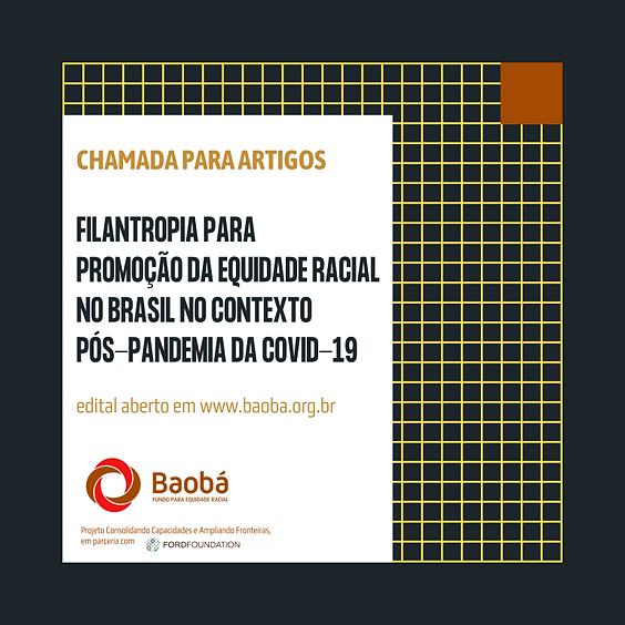 Chamada para artigos para o Fundo Baobá para Equidade Racial