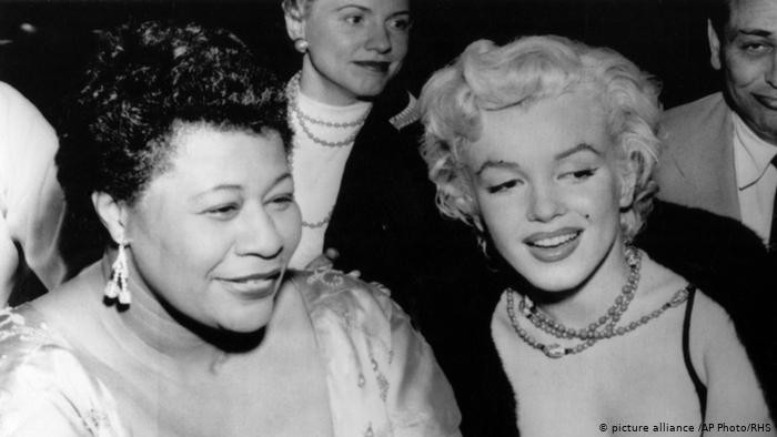 Ella Fitzerald et Marilyn Monroe