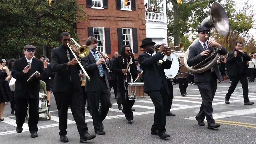 Orchestre funéraire à la Nouvelle Orléans