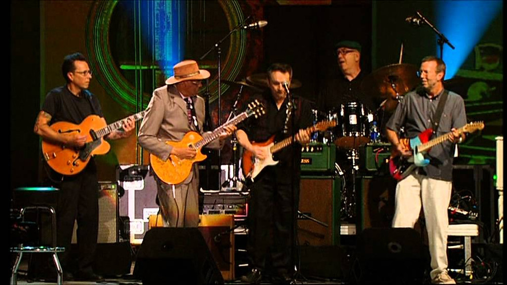 Buddy Guy, Eric Clapton, Johnny Winter, Robert Cray, Hubert Sumlin...