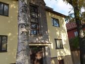 Korterelamu, Kungla tn.25, Tallinn - fassaadide soojustus-,krohvitööd ThermoRoc süsteemil