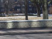 Gonsiori tänava, Tallinn- tänava äärse paekivi müüritise ladumine