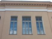 TALLINNA REAALKOOL, Estonia pst.6, Tallinn - katusekarniisi- ja lõunafassaadi taastamine
