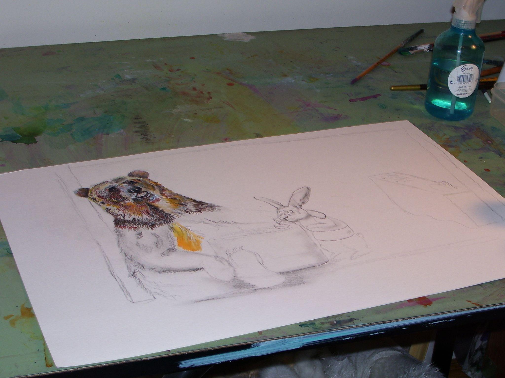 artistic process