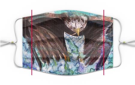 Eagle -  PLEATED PREMIUM MASK