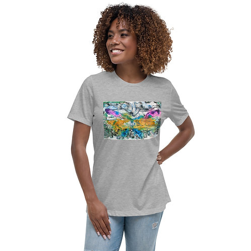 TURQ. DRAGONFLY - Women's Relaxed T-Shirt