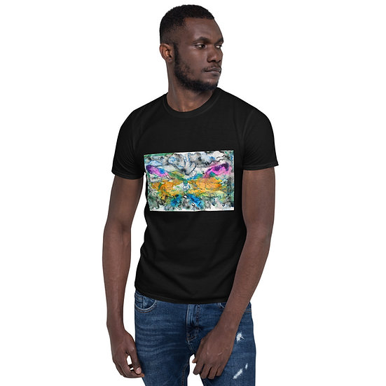 TURQ. DRAGONFLY - Short-Sleeve Unisex T-Shirt