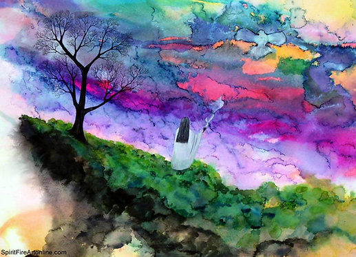 Stand in the Light - Watercolor