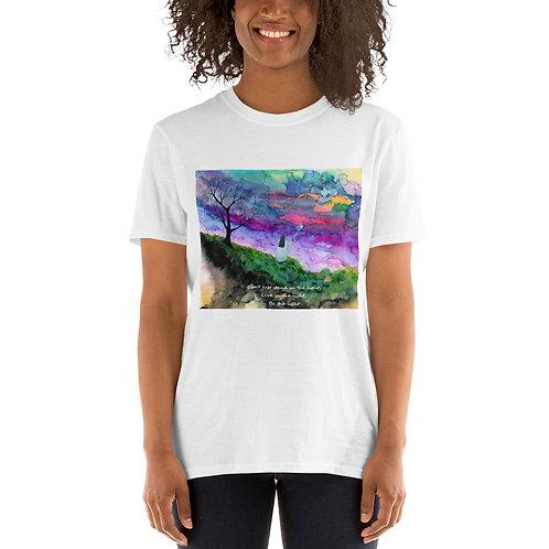 STAND IN THE LIGHT spirit - Short-Sleeve Unisex T-Shirt