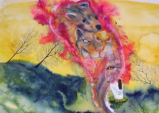 Spirit Prayer - Watercolor