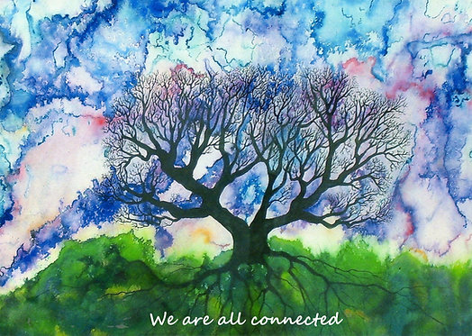 We Are All Connected - SPIRITMINDER