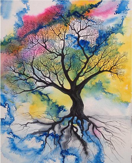 Simple Spirit Tree