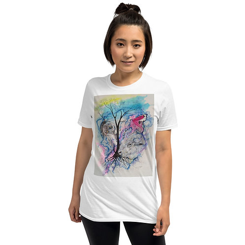SPIRIT WINDS - Short-Sleeve Unisex T-Shirt