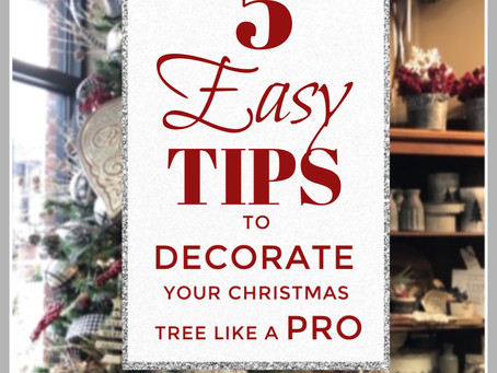 5 Easy Tips to Decorate Your Christmas Tree Like a Professional