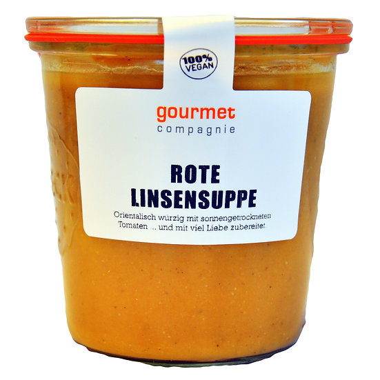 Rote Linsen Suppe 490ml