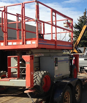 Alberta Red Deer Sundre Skyjack Rough Terrain Scissor Lift