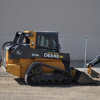 John Deere Skid Steer Red Deer Sundre 323E Track